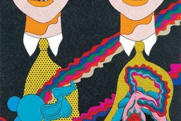 海外「80年代のレジェンド」日本ポップアートの巨匠、田名網氏が海外で大人気