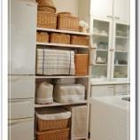 『すっきりカフェ風に【キッチンのかご収納活用術】』の画像
