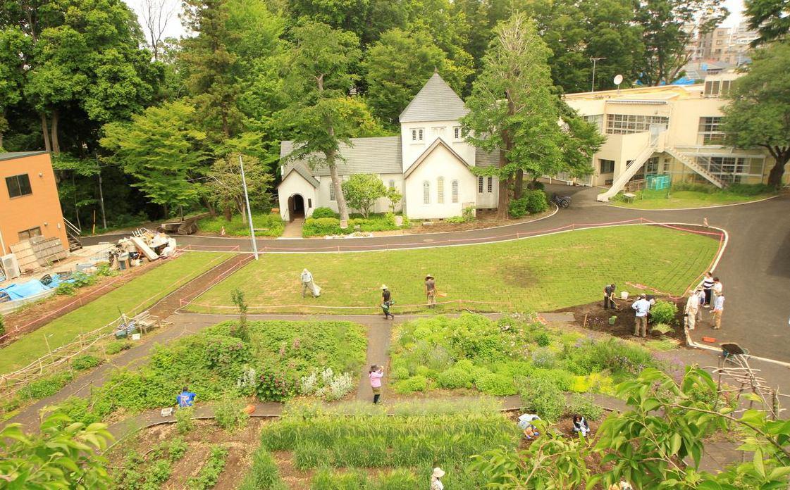 滝乃川学園ガーデンプロジェクト イメージ画像