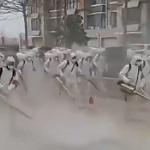 【動画】中国、武漢肺炎、大人数の消毒班を動員し街を消毒する様子が不気味すぎる! [海外]