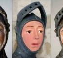 素人の修復で漫画風にされた聖像、再修復でほぼ原状回復 スペイン