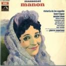 FR VSM 2C 053-10 144-6 ピエール・モントゥー ヴィクトリア・デ・ロス・アンヘレス パリ・オペラ=コミック座管弦楽団 マスネ マノン