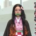 【動画】テレ朝・弘中綾香アナ、「鬼滅の刃」の禰豆子コスプレに挑戦してしまうwwwwww