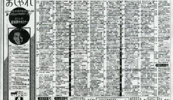 【画像】昔のテレビ欄を貼っていく!『昭和のテレビ事情はこんなんだった』