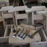 『椅子つくり・ジャーマンアイリス』の画像