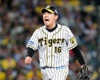 阪神・西勇輝 打率.222(27-6) 2打点