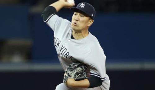 ヤンキース田中将大が今季初登板初勝利 ソロ被弾以外は13者連続斬りの圧巻投球