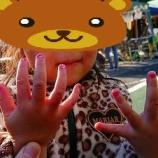 『わらんちゅフェスティバル2017で下の子が初ネイルに挑戦した話』の画像