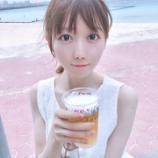 『[イコラブ] 大谷映美里「おとななので…初めてオリオンビール飲んだの~」【みりにゃ】』の画像