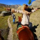 『【乗馬体験編】格安で最高の〈モンゴル ゲル〉に泊まる!』の画像