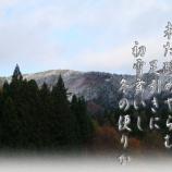 『フォト短歌「初雪舞う」』の画像