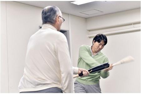 """松井、長嶋 「伝説の素振り」再現13年ぶり師弟の""""聖域"""" alt="""