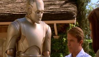 面接官「人間と人間を完全に模したロボットがいます。一つの質問でどちらがロボットかを見分けてください」