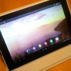 アップデートで大幅に改善したXPERIA Tablet Z