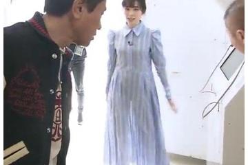 福原遥「え、スカートが透けてる。パンツの色わかっちゃう」