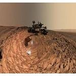 火星で小人型エイリアン発見、身長15センチ(画像あり)