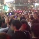 『【乃木坂46】昨日の渋谷サッカーファンの中に与田の他、西野・中田のタオルを掲げているファンもいた模様wwwww』の画像