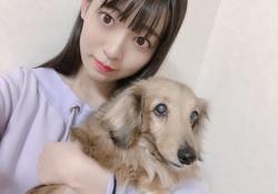 乃木坂46・阪口珠美ちゃん、愛犬との可愛い2ショット!!!