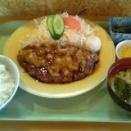 今日のコブタランチ 和風おろし豚カツ定食
