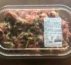 コストコデリ新商品のガーリックペッパーポークはビールやご飯が進む旨辛お肉
