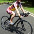 テレ東狩野アナ、「劇場版 弱虫ペダル」で声優に挑戦 自転車競技コスチュームも披露