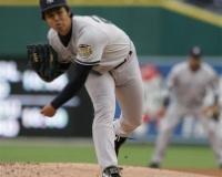 【悲報】元阪神のエース左腕、米CBSのヤンキース大型契約失敗例の一人に…