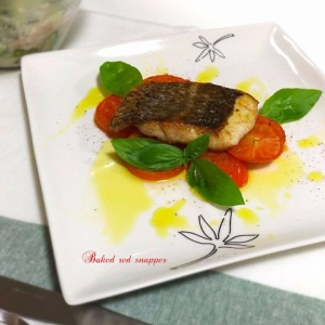 イタリアンなお味♪鯛のふっくらオーブン焼き