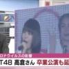 新潟のテレビ局がおかっぱちゃん卒業延期のニュースを流す