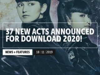 「Download Festival UK」サイトのTOPにBABYMETAL