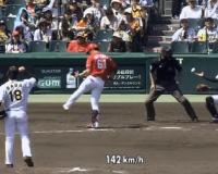 阪神ドラ1馬場衝撃デビュー、MAX143キロ
