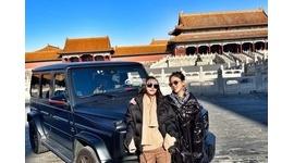 【中国】共産幹部の娘、世界遺産「故宮」の侵入禁止広場にベンツで乗り付け記念撮影…「特権階級の差別待遇」と炎上
