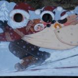 『顔出し看板・クリスマスバージョン』の画像