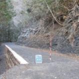 『林道災害復旧工事が完了しました。』の画像