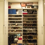 『玄関のお片づけ シューズクローゼット その1』の画像