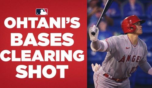 大谷翔平がバックスクリーン横への特大3号弾、片手一本でフェンス直撃した二塁打も話題に(海外の反応)