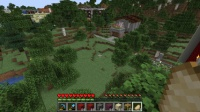 赤い家を作る