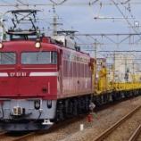 『【旅客列車が来ない】越中島貨物駅を見てみる』の画像
