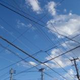 『電 線』の画像