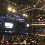 『ステージが近い!!『乃木坂46ライブ in 上海』会場内の様子がこちら!!!』の画像