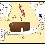 『チョコパイのレンチンが贅沢時間だった…!』の画像
