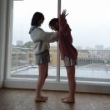『逆光でも可愛さは伝わってきますw かずみんとみなみちゃんの2ショット!【乃木坂46】』の画像
