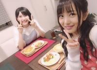 福岡聖菜と向井地美音が作った料理がめちゃくちゃ美味しそう!