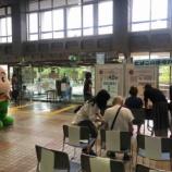 『5月31日は世界禁煙デー。また本日より6月6日までは禁煙週間です。戸田市役所で禁煙啓発のための展示と肺年齢測定体験が行われていました。』の画像