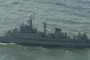 韓国海軍護衛艦「チョンジュ」が訓練中に魚雷誤発事故