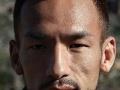 旧日本兵のような顔の選手について