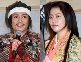 長澤まさみ、交際報道の伊勢谷友介と一緒に登壇も会話なし フジSPドラマ「女信長」制作発表