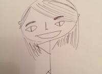 【AKB48】藤田奈那が、自画像を描いた結果www