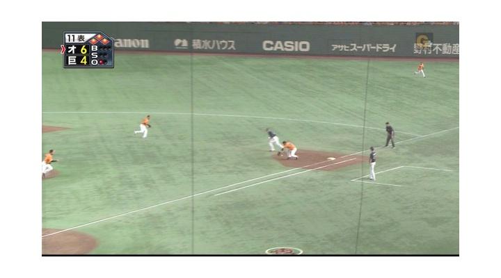 【 画像あり 】延長12回・・・オリックスに6点目が入った時の村田と高橋監督の表情・・・