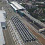 『MRTJ第三陣搬入完了(10月23日)』の画像
