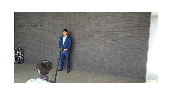 【画像】澤村さん、謝罪会見のようなインタビューになってしまう…